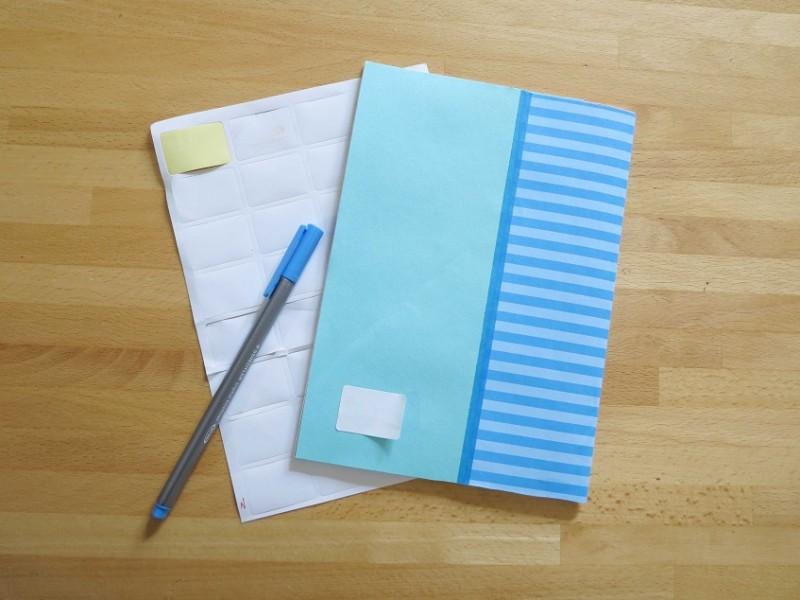 הדבקת נייר 8