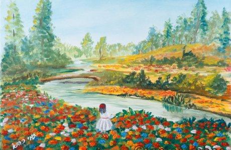 תמר כהנא, ציור ישראלי