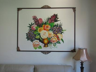 טלי ברוינר 2 הציור על הקיר