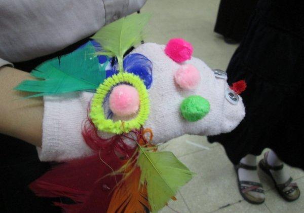 """סדנת בובות באלעד בהפעלת """"יוצרים סביבה"""""""