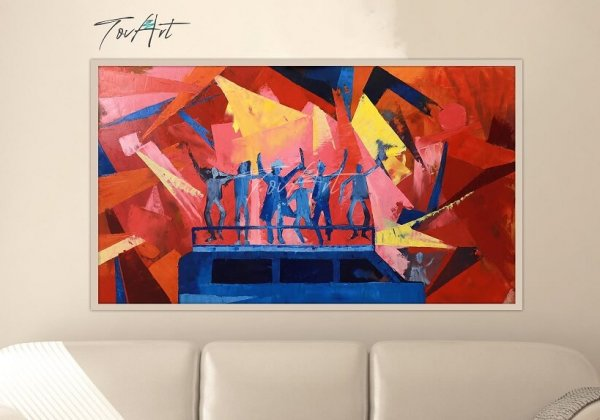 טובה פרנקל, אמנות יהודית מודרנית